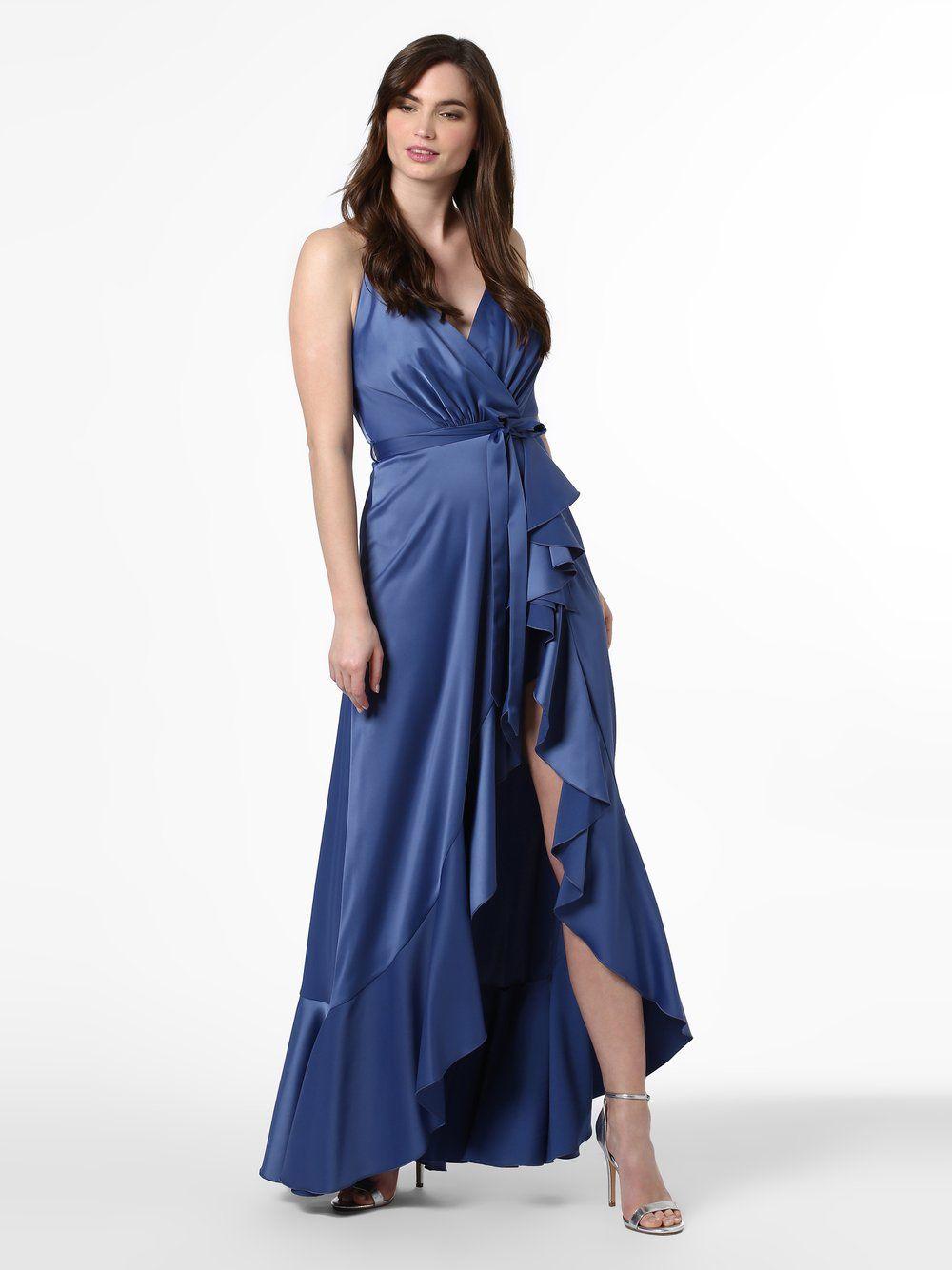 Marie Lund Abendkleid blau in 13  Abendkleid, Trendige kleider