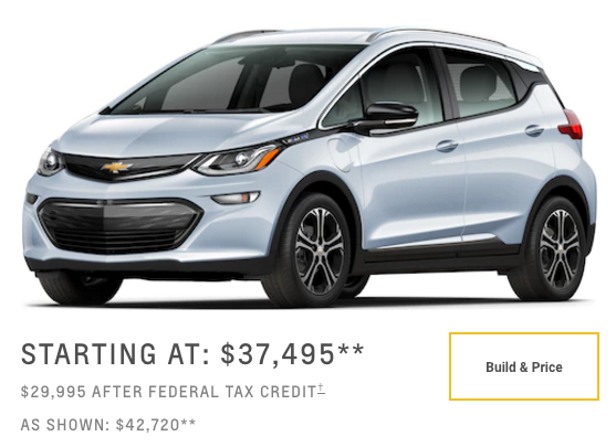 12 Factors That Will Limit Chevy Bolt Sales In The Us Part 1