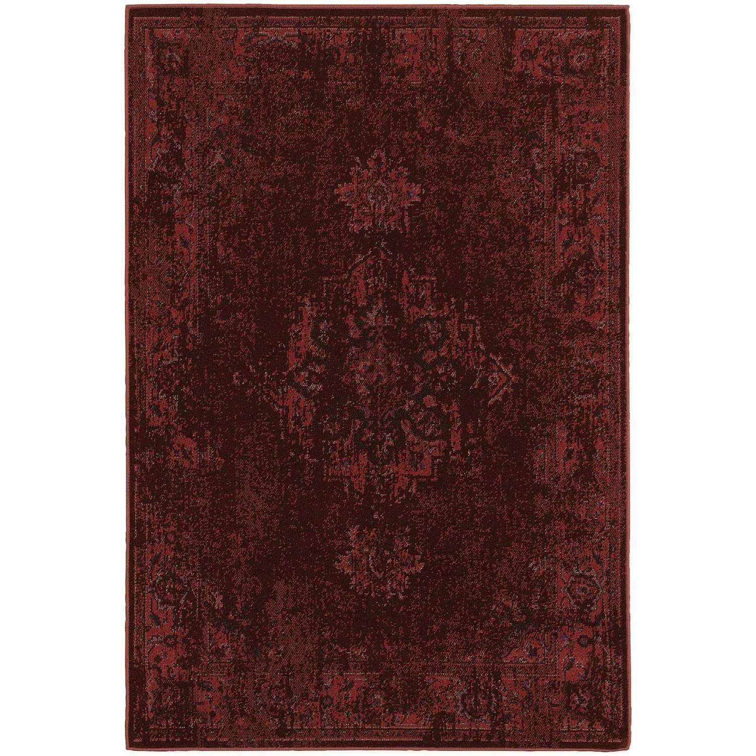 Revival 6330M Red Traditional Rug by Oriental Weavers