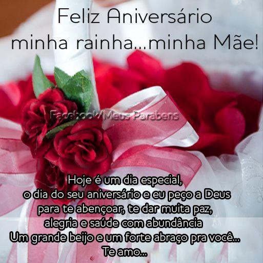 Mensagem Feliz Aniversario Mamae Feliz Aniversário Mãe