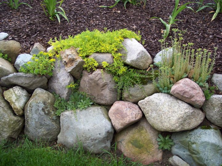 rock wall Garden Share Japanese Gardens Pinterest Rock