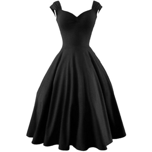 Black Sweetheart Bubble Sleeveless Dress COLOR:BlackDETAIL:RuchedMATERIAL:PolyesterNECKLINE:SweetheartSILHOUETTE:SkaterSLEEVE LENGTH:SleevelessPolyester;Non-st…