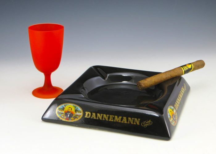 Dannemann cigar ashtray from bahia brazil the tobacco for dannemann cigars is grown at the santo antonia farm in bahia