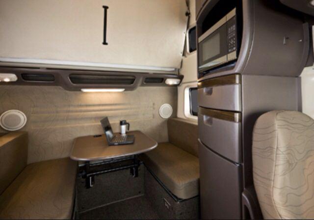 Volvo Sleeper Cab Semi Trucks Interior Truck Interior Freightliner
