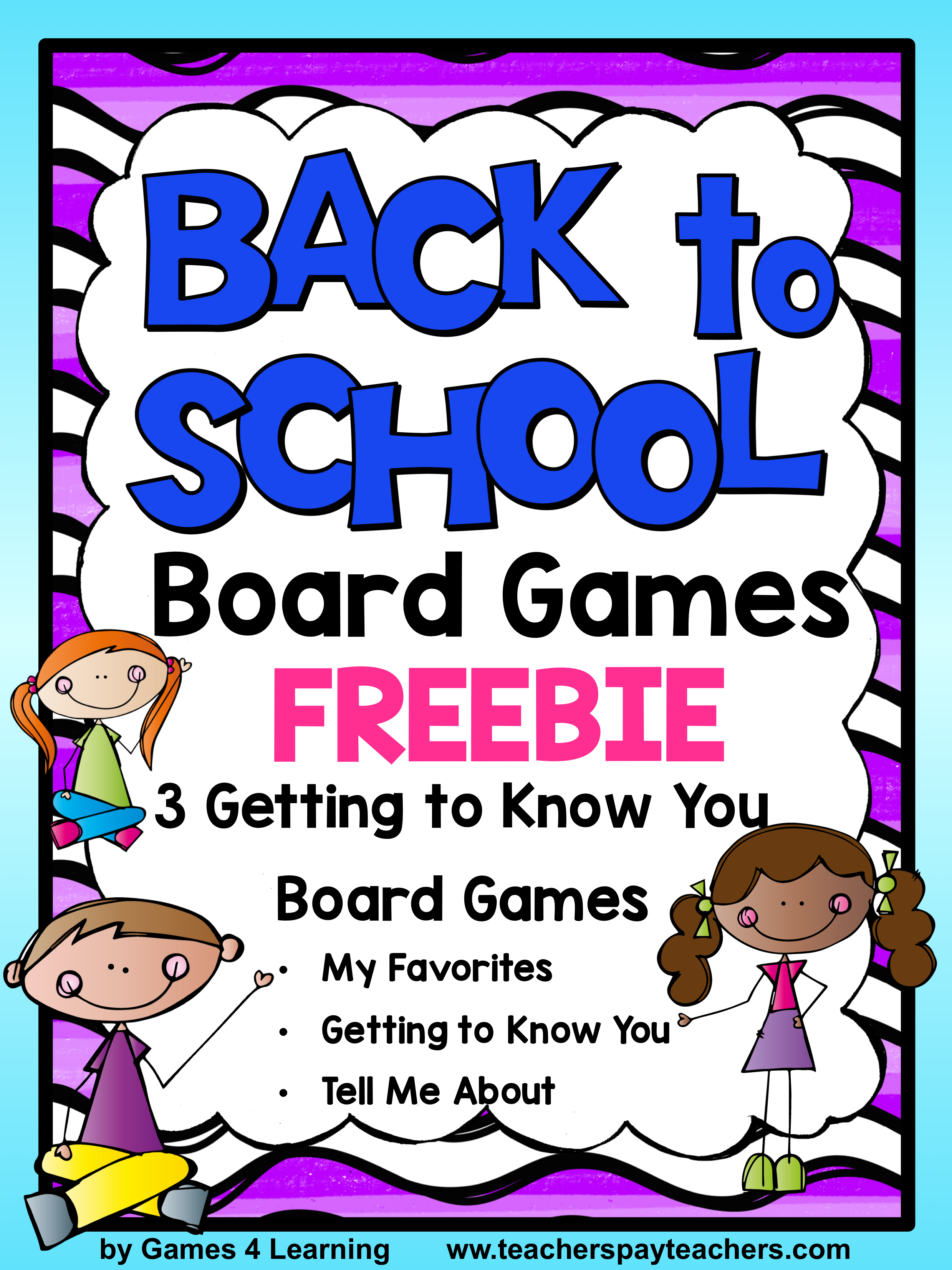 Back To School Activities Getting To Know You First Day