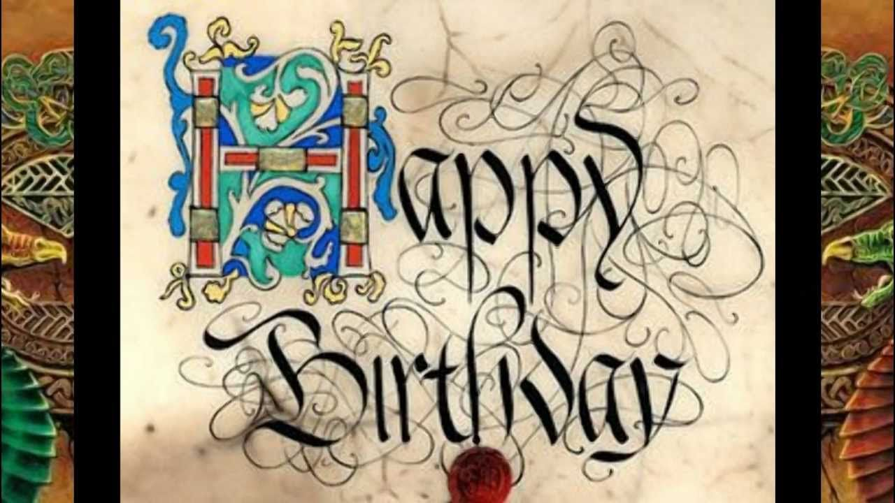 Jonathan Rhys Meyers Happy Celtic Birthday Wishes