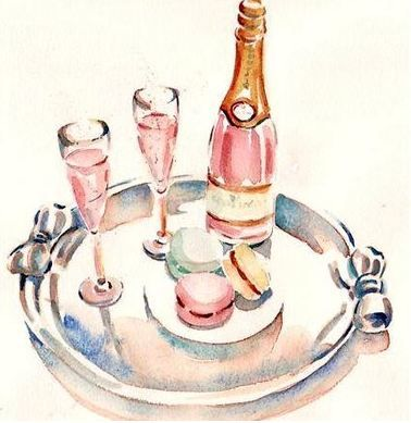 pink champagne....
