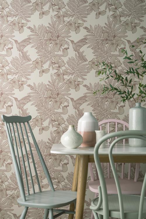 Roomshots Maxwell Fabrics Wall coverings, Bird