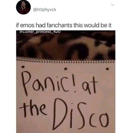If Emos Had Fanchants #memes #jokes #sillyjokes