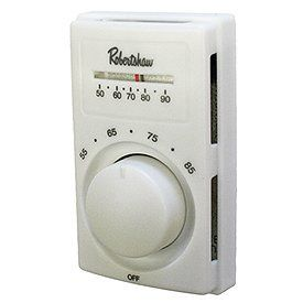 Robertshaw 801line Voltage Heating Only Thermostat Spst By
