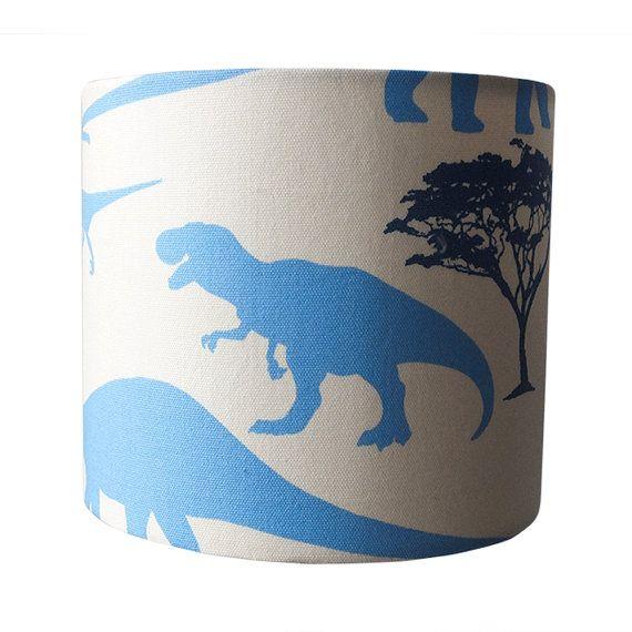 Blue dinosaur lampshade ukeuus pendant ceiling or table lamp blue dinosaur lampshade mozeypictures Gallery