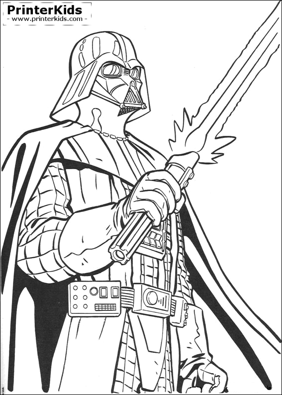 Star Wars coloring page | Kids | Pinterest | Star, Adult coloring ...