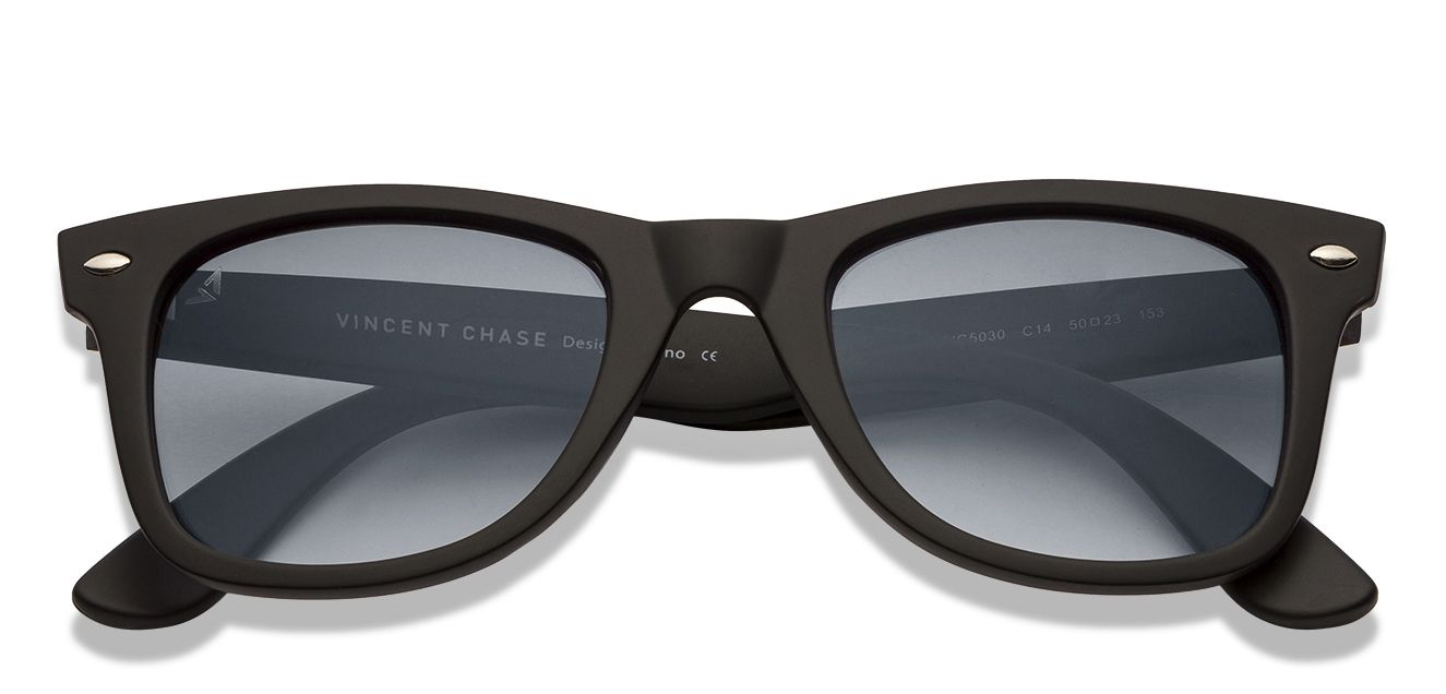 3c7a94a0fc Black Blue Gradient Full Rim Wayfarer Shape Small (Size-50) Vincent Chase  Sunsetters VC 5030-C14 Sunglasses at LensKart.com
