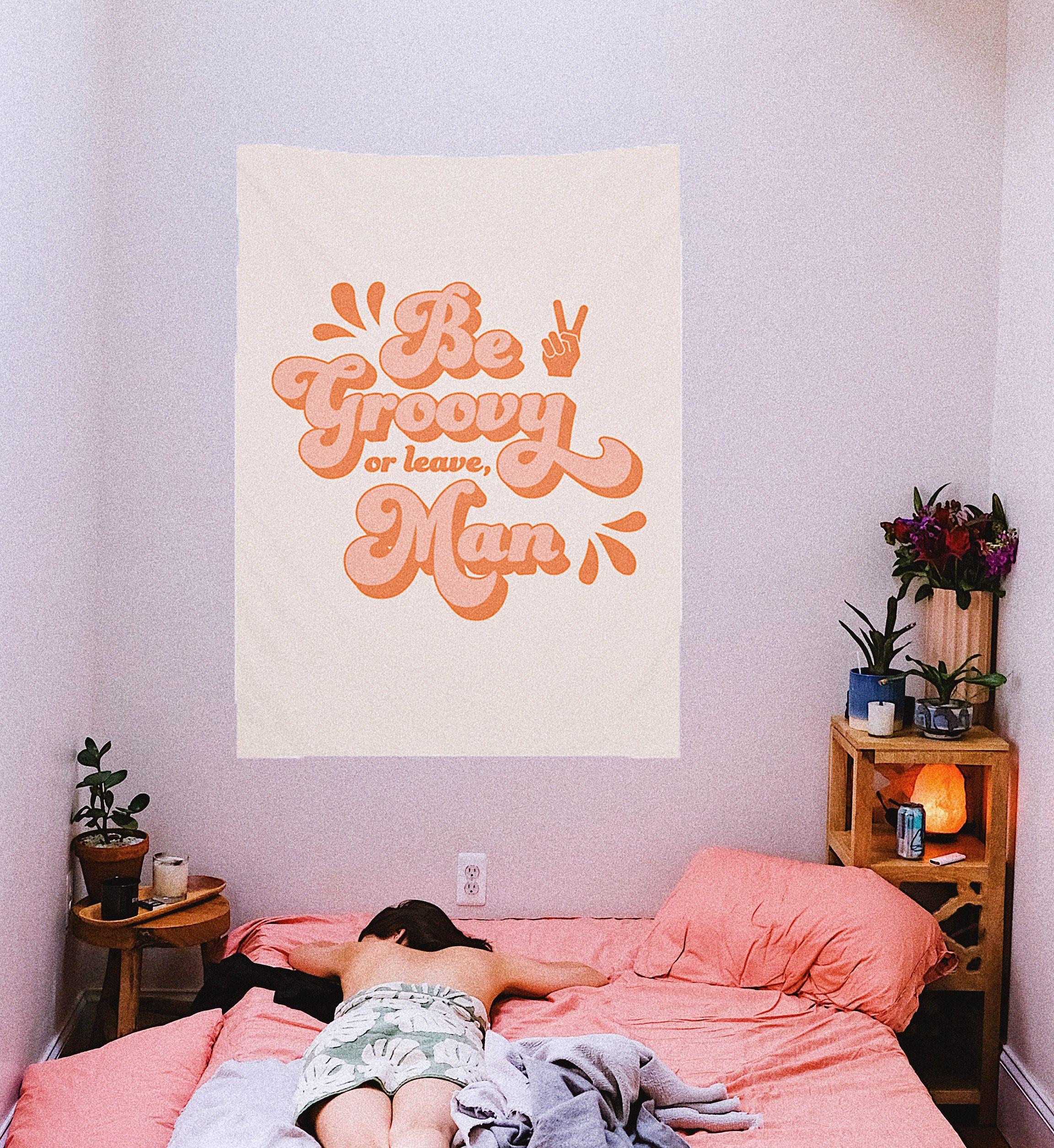 Spirit Tapestry Modern Bedroom Aesthetic Bedroom Bedroom Decor