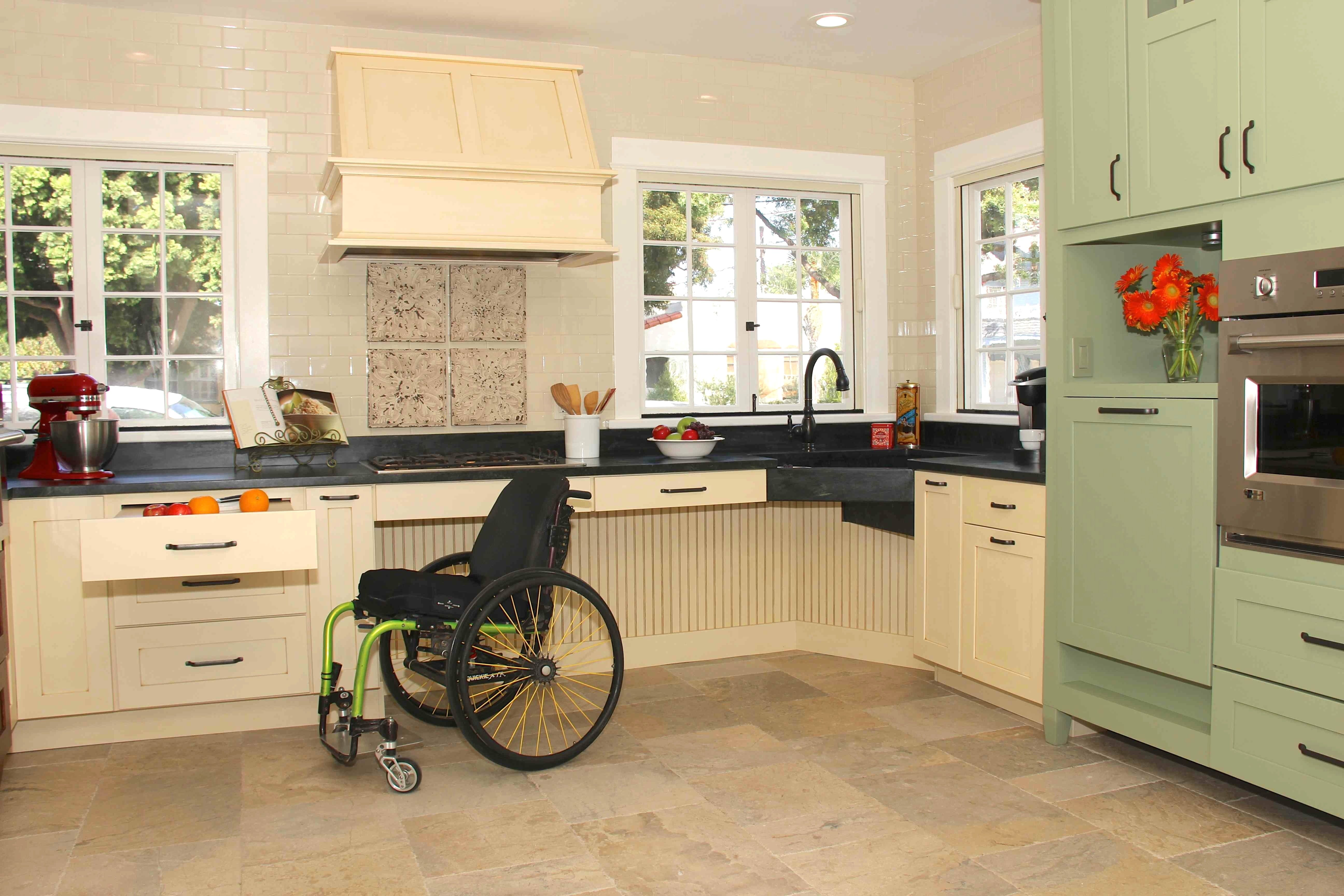 Attirant Accessible Kitchen Design: 7 Important Features For The Perfect Accessible  Kitchen   Accessible Homes Advisor