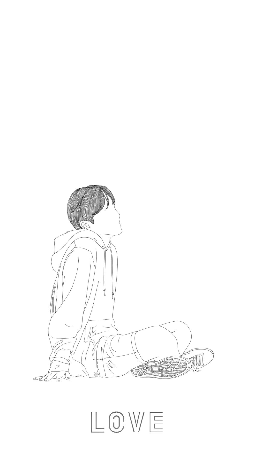 Line Art Yourself : Bts dna tumblr 방탄소년단 pinterest