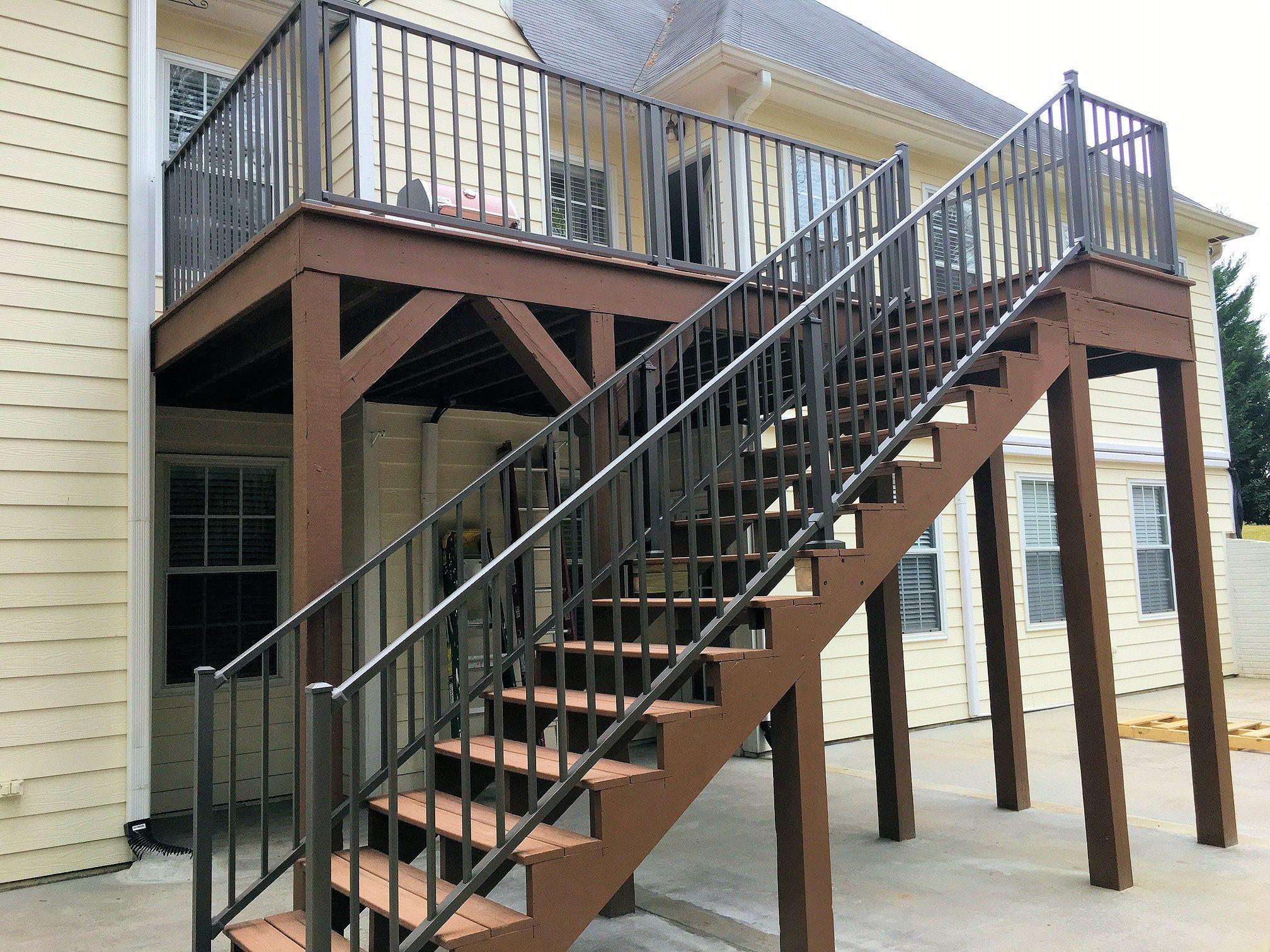 westbury tuscany aluminum railing