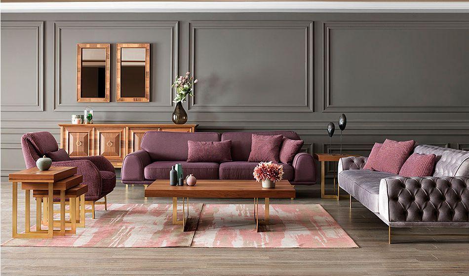 lusso gold salon takimi 15 670 00 tl ve ucretsiz kargo ile caddeyildiz mobilya alisveris si oturma odasi dekorasyonu luks oturma odalari oturma odasi takimlari