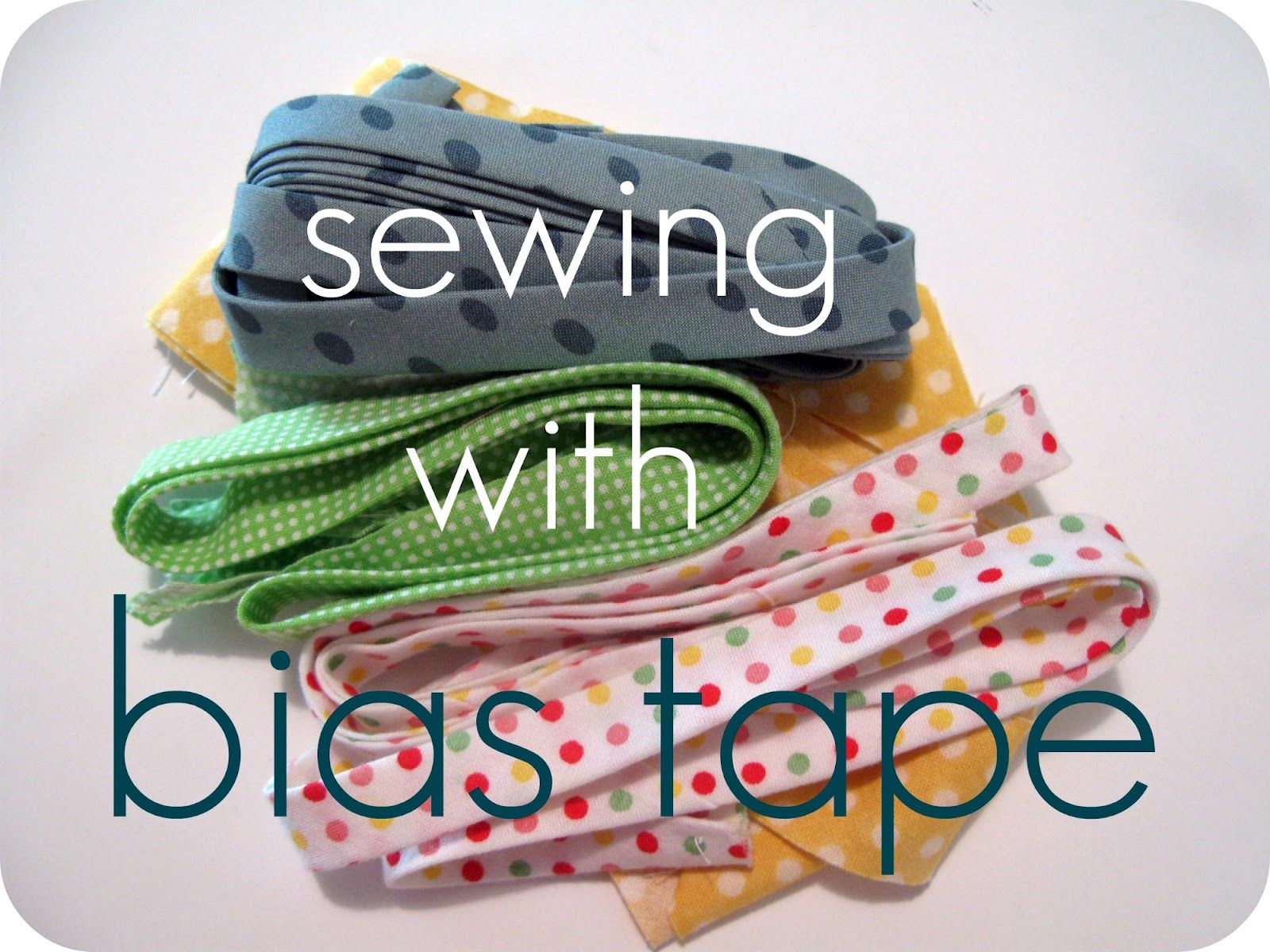 Caila-Made's Tutorial and Tips for Sewing with Bias Tape. Really, I am an experienced sewer, and I can sew bias cording like no one's business, but I made an absolute mess sewing a Christmas project with bias tape. I will be reading through these tips next time!
