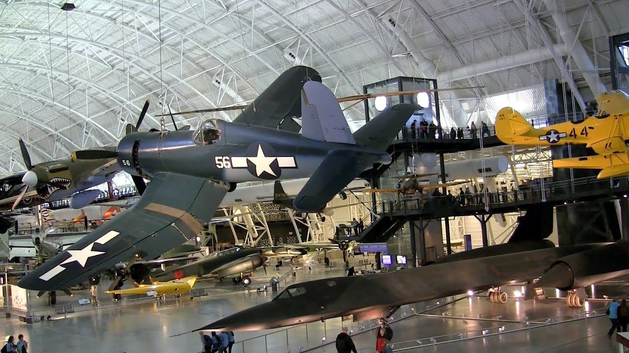 The Smithsonian National Air and Space Museum vast