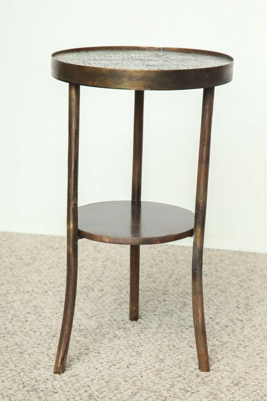 Rare eternal forest drinks table by philip kelvin laverne from a
