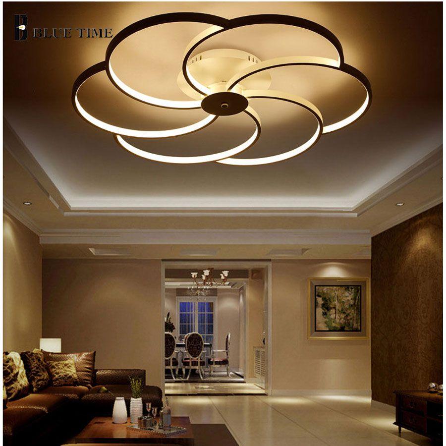 Led Lamp Chandelier Modern Acrylic Kitchen Lamparas De