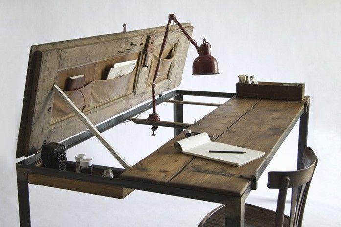 escritorio #Manoteca #design #muebles reciclados #muebles de diseno - muebles reciclados