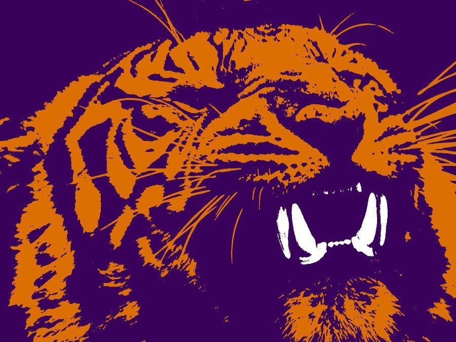 Clemson Tiger By Hikaruechizencmp Jpg 900 675 Pixels Clemson Tigers Wallpaper Tiger Wallpaper Clemson Tigers
