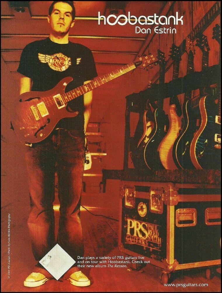Dan Estrin of Hoobastank for PRS Guitars 2004 ad 8 x 11 advertisement print #PRS #prsguitar Dan Estrin of Hoobastank for PRS Guitars 2004 ad 8 x 11 advertisement print #PRS #prsguitar Dan Estrin of Hoobastank for PRS Guitars 2004 ad 8 x 11 advertisement print #PRS #prsguitar Dan Estrin of Hoobastank for PRS Guitars 2004 ad 8 x 11 advertisement print #PRS #prsguitar