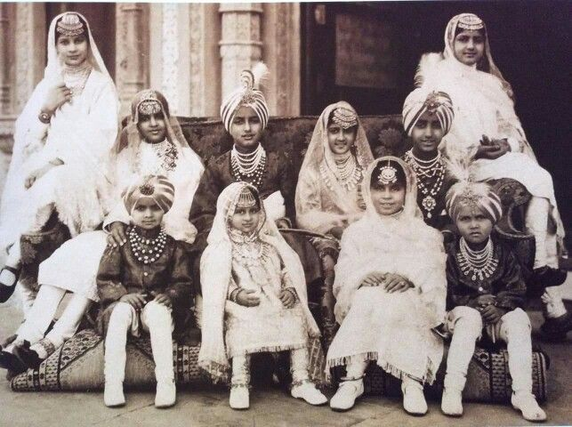 Children of the Patiala Royal Family