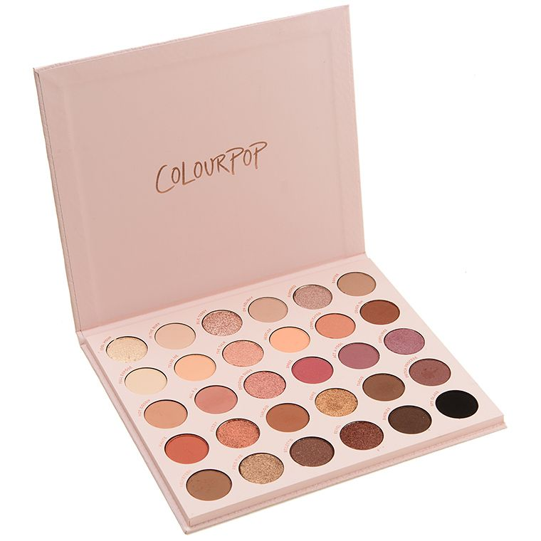 ColourPop Bare Necessities 30-Pan Shadow Palette Review & Swatches