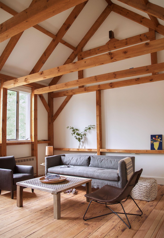 Katz Truro barn living room