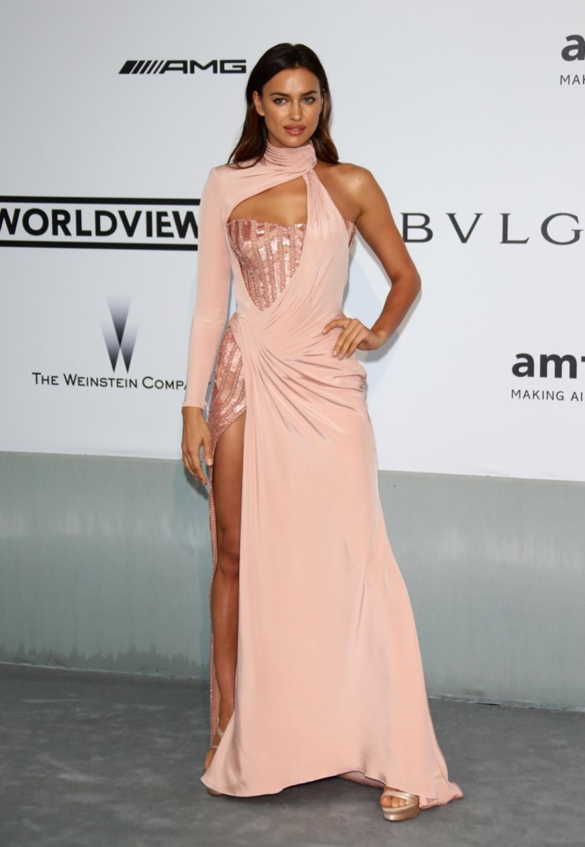 Irina Shayk - Photos - Stars grace the red carpet at amfAR gala in ... 4419e0c0ad07