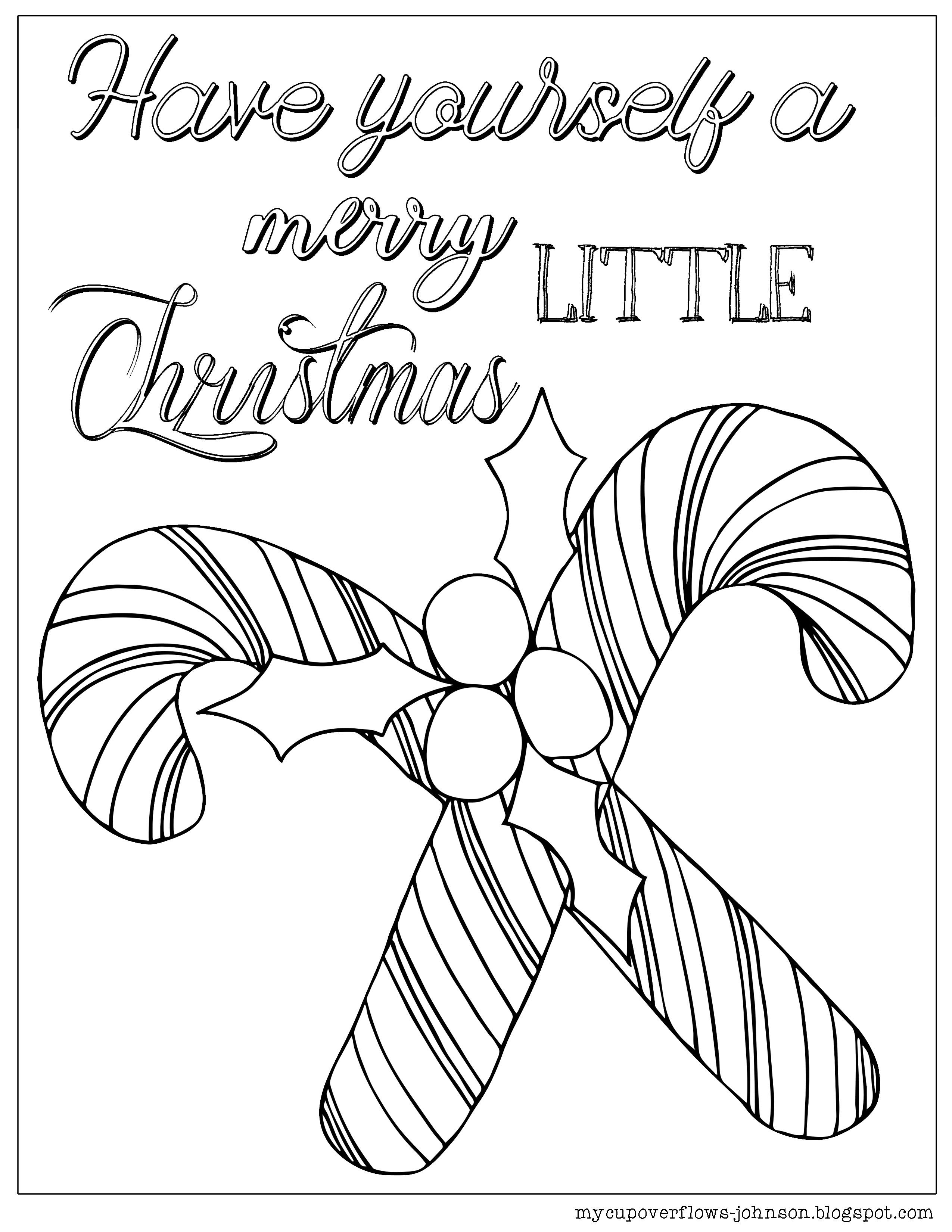 Candy Cane coloring sheet | Bible Coloring Pages and more ...