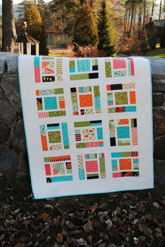 PDF baby quilt PATTERN or Lap Quilt.... Layer Cake by sweetjane, $9.00