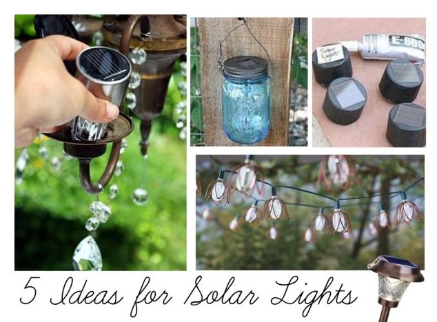 5 Ideas For Solar Lights Solar Lights Outdoor Patio Lights Patio Lighting