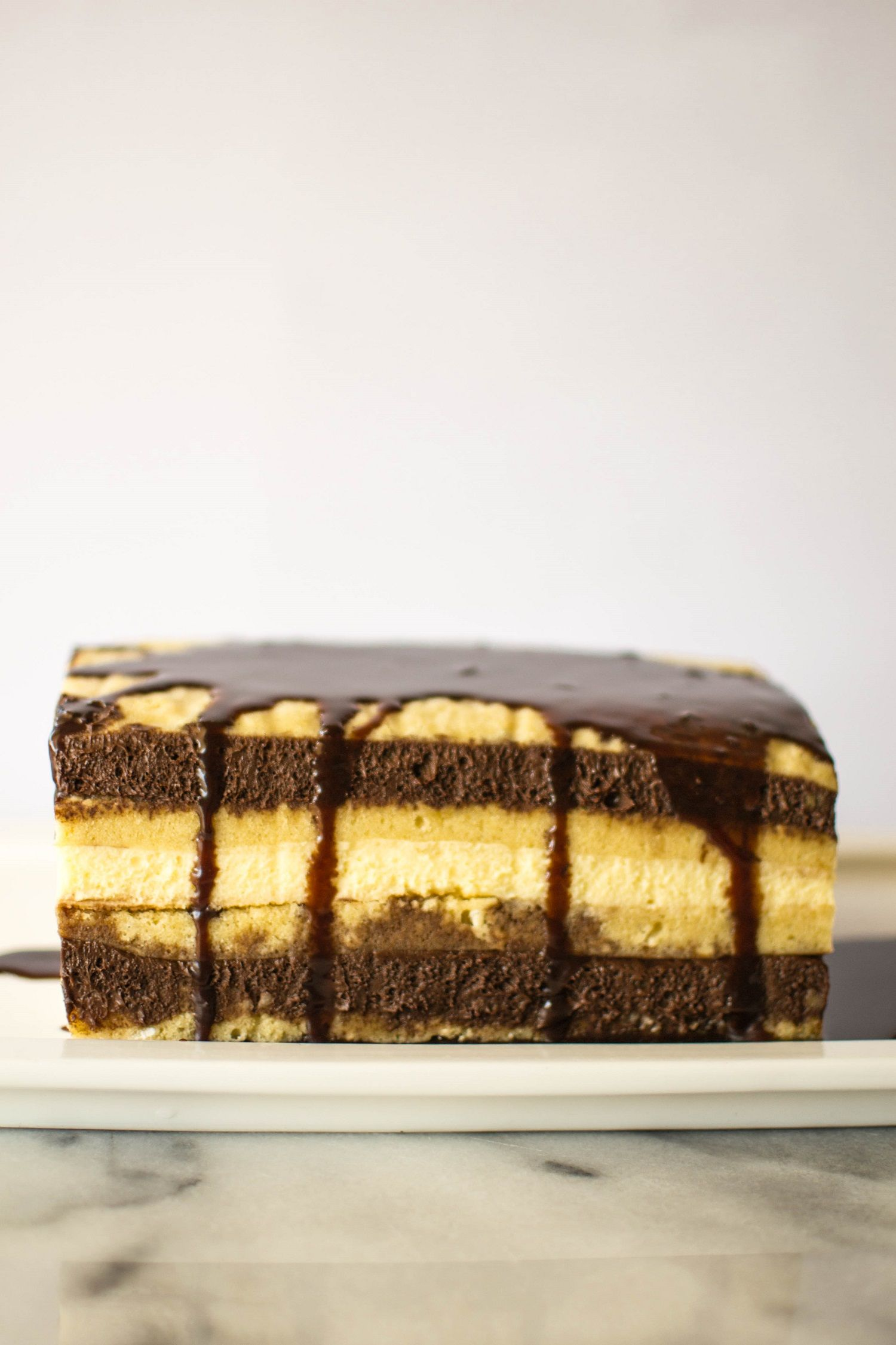Belgian Mocha Mousse Layer Cake