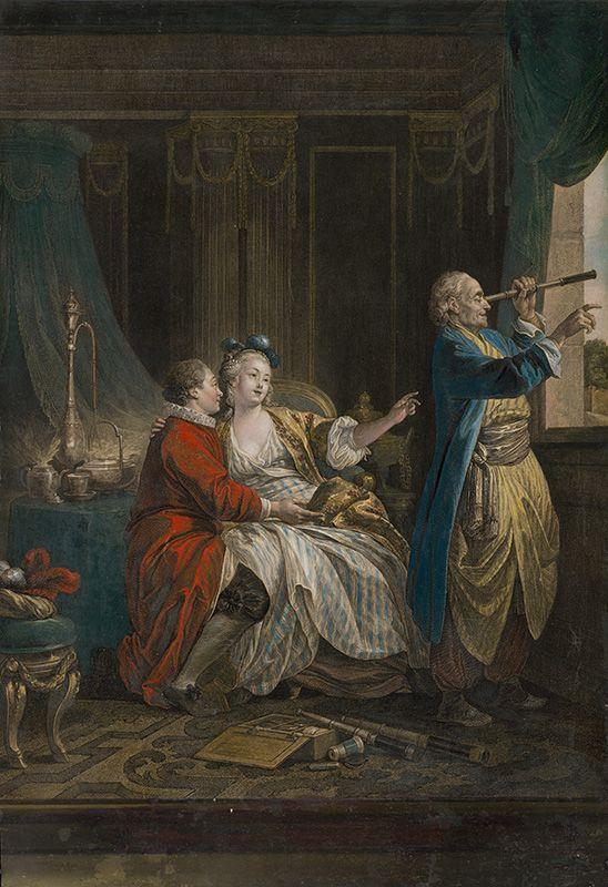 Jean-Baptiste Le Prince, Isidore-Stanislaus-Henri Helman - Predavač ďalekohľadov (Le marchand de lunettes)