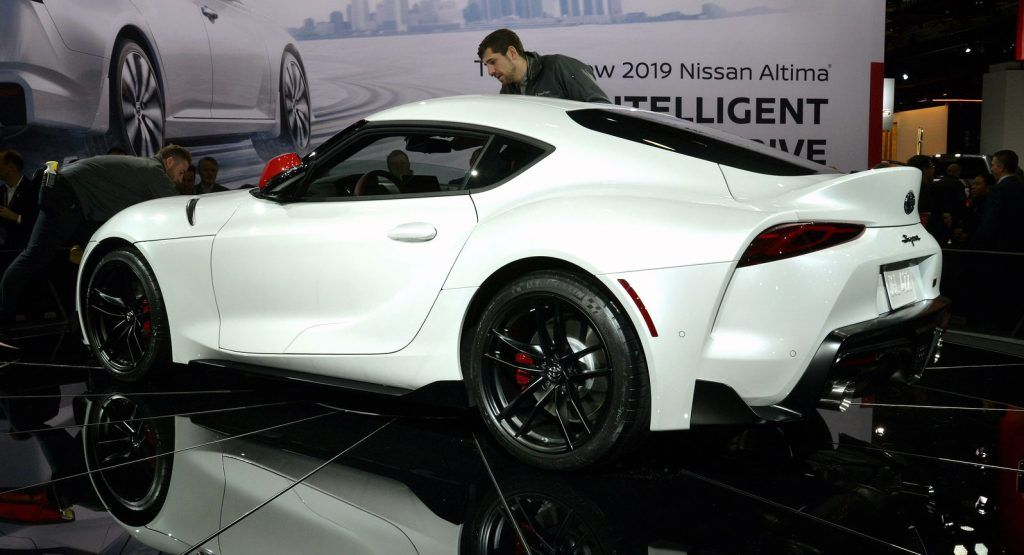 2020 Toyota Gr Supra Here Are All The Details Photos And Videos You Ve Been Waiting For Toyota Supra Toyota Toyota Supra Turbo