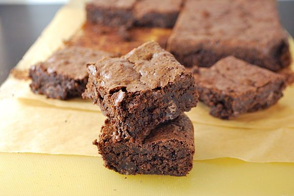 Photo of Gluten-free brownies (with almonds)