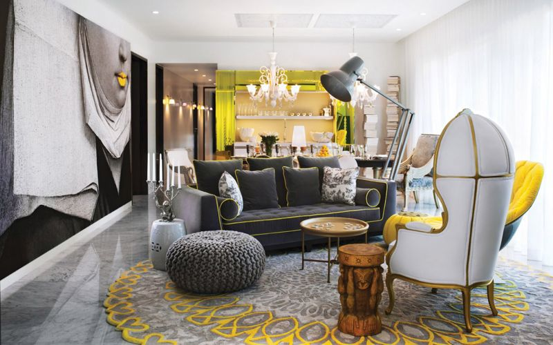 Interior decoration ideas by philippe starck
