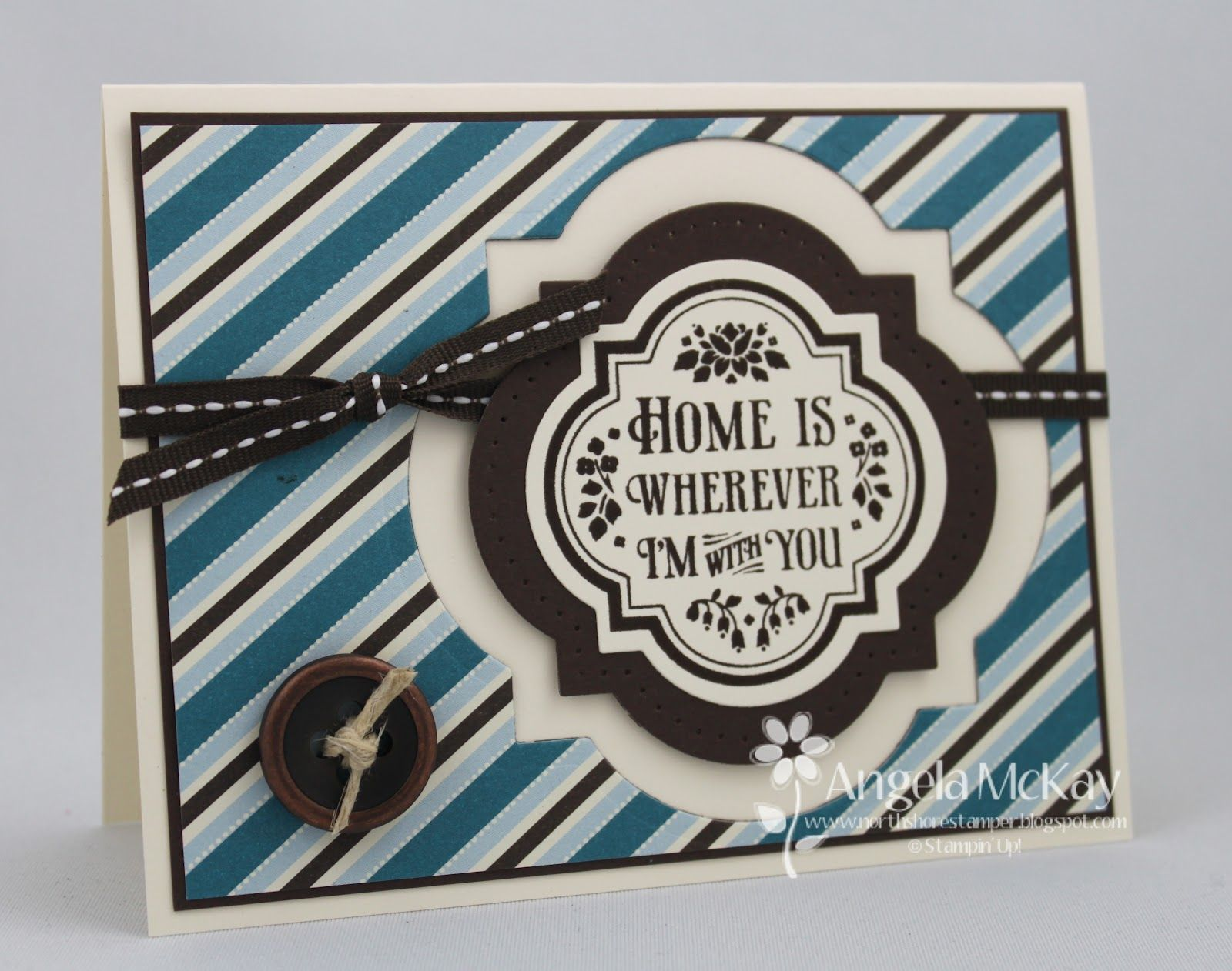 North Shore Stamper: Stampin' Royalty Challenge #134~ Buttons!