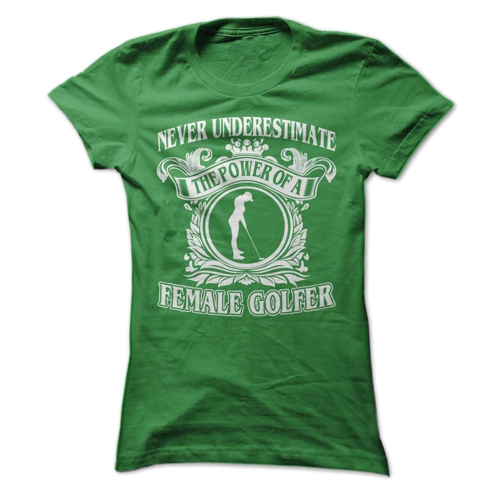 Cool Female Golfer, Order HERE ==> https://www.sunfrog.com/Sports/Cool-Female-Golfer-Green-Ladies.html?id=41088 #christmasgifts #xmasgifts #golf #golflovers #golftips