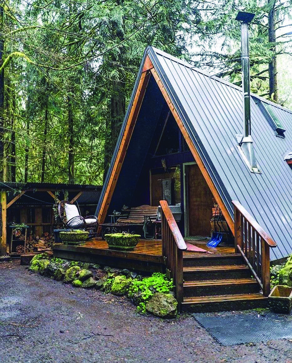Metal Roofing Homes Tre Building A Tiny House A Frame House A Frame Cabin