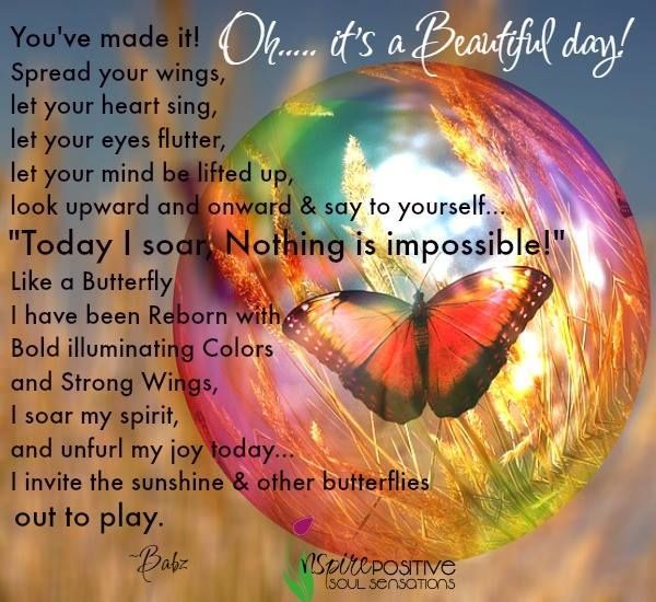 Oh Its A Beautiful Day Beautiful Day Quotes Beautiful Quotes Beautiful Day