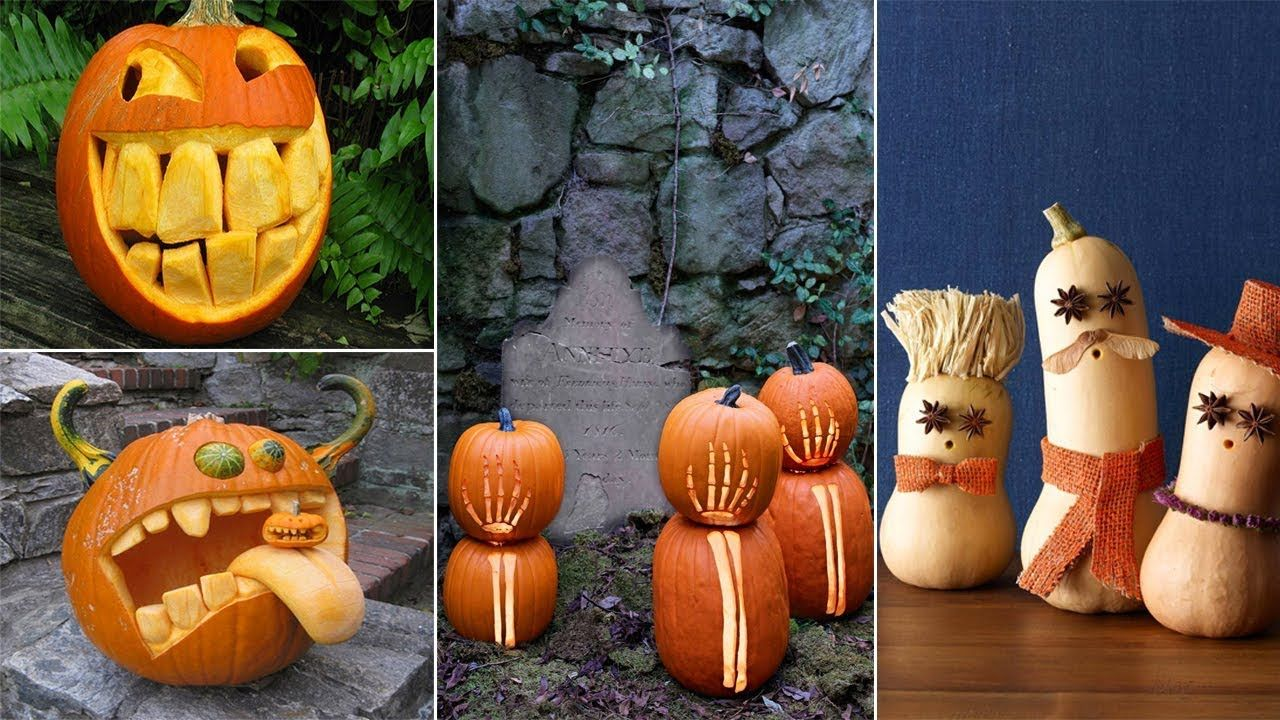 100 Best Pumpkin Carving Ideas Halloween 2018 in 2020