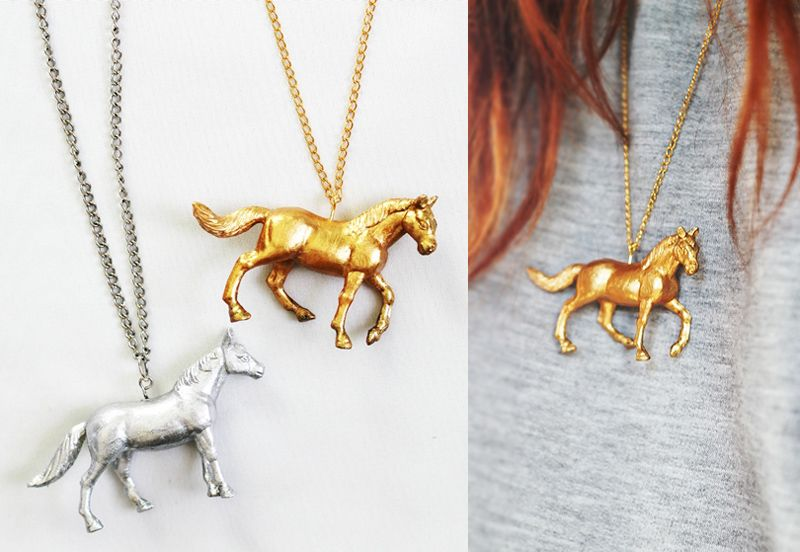 Miracles Everywhere Diy Horse Necklace Horsey Stuff