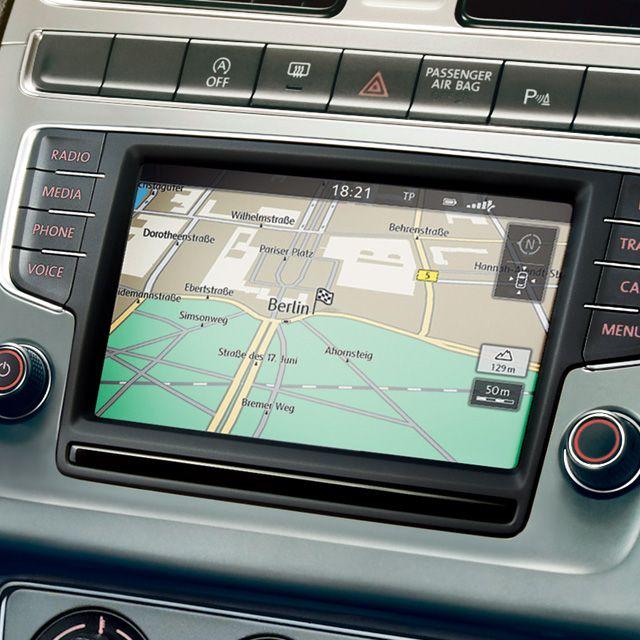Volkswagen radionavigaion discover media