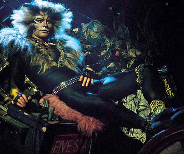 John Partridge as Rum Tum Tugger; Griddlebone as Tuggeru0027s older - best of lyrics invitation to the jellicle ball
