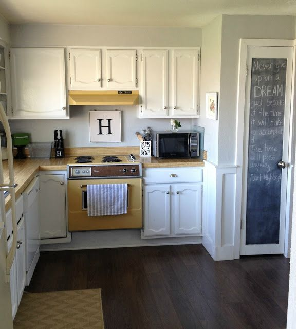 Keep Home Simple: Our Split Level Fixer Upper Kitchen